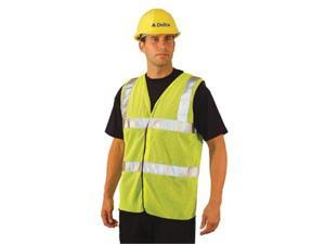 OccuNomix 561-LUX-SSCOOLG-YL L Occulux Ansi Mesh Vest:Yell