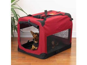Pet Pals ZA411 28 Guardian Gear Soft Crate Sm Brick Red S