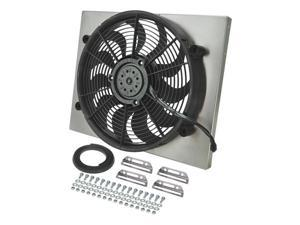 Derale DER16823 Radiator Fan with Aluminum Shroud Assembly