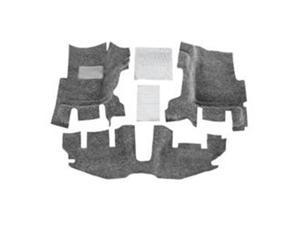 Bedrug BRTJ97FNC 1997-2006 TJ Front Floor Liner Kit without Console, 3 Piece