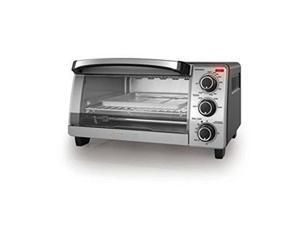 Black & Decker TO1705SB Black Decker 4 Slice Toaster Oven - Stainless Steel