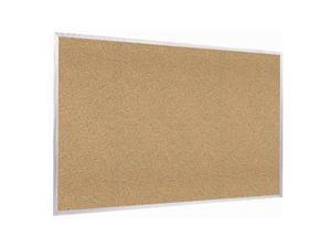 Ghent 18 x 24 inch Home Decor Natural Cork Bulletin Board With Aluminum Frame