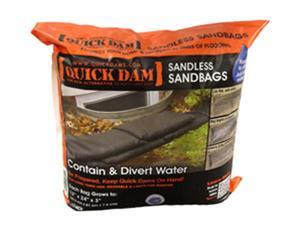 "Quick Dam QD1224-6 Sandless Sandbags 12"" x 24"" (6 pack)"