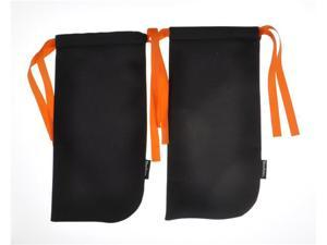 ShoeTotes in Black/Orange