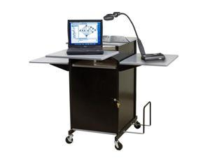 Balt Locking Cabinet  For EXtra Wide Presenatation Cart - Gray