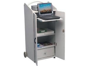 Balt Rolz-2 Conference Center Presentation Cart - Gray