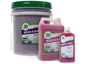 3D Wash N Wax - Car Soap With Liquid Wax