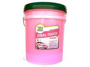3D Final Touch 5 Gallon Quick Detailer Remove Fingerprints Buffer Smears