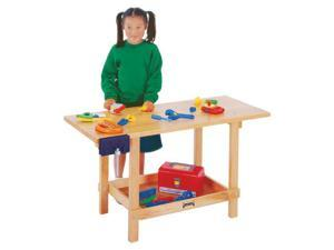 Jonti-Craft Kids Playroom Wooden Discovery Activity Project Play Workbench Toy Set