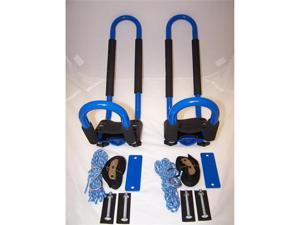 Pack'Em Racks Universal J-Hook Kayak Vehicle Top Carrier Rack Blue