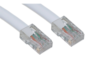 Cable Wholesale CAT6 UTP Bootless White 100 ft