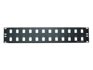 Cable Wholesale 24 port Blank Keystone Patch Panel