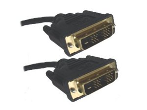 DVI (Digital Visual Interface) Dual Link Cable Male to Male - 5 Meters
