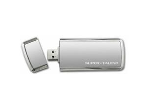 Super Talent 64 GB SuperCrypt USB 3.0 Plug and Play Flash Drive (ST3U64SCS-64GB) - Gray