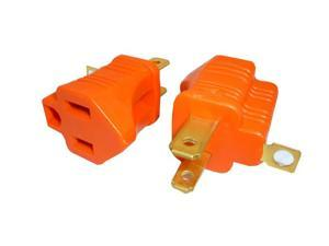 Jason Professional Cable 3 Prong To 2 Prong Grounding Converter