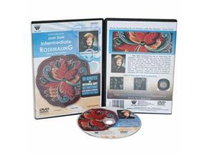 Weber Dahl Dvd Intermediate With Rosemaling Oil Painting 1 Hour