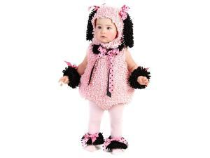 Pink Poodle Infant / Toddler Costume - 6/12 Months