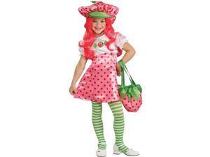 Child Deluxe Strawberry Shortcake Costume Rubies 883489