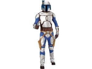 Star Wars  Jango Fett Deluxe Adult - Standard One-Size
