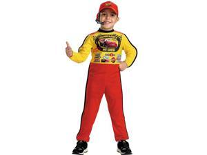 Cars Lightning McQueen Jumpsuit Child Costume