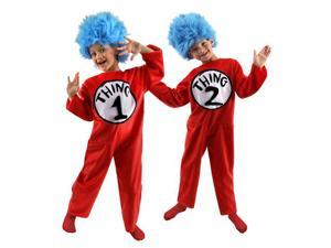 Dr. Seuss Thing 1 and 2 Child Costume