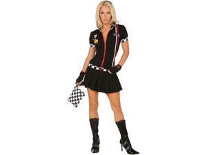 Pit Crew Princess Adult Costume