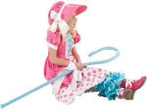 Girls Polka Dot Bo-peep Child Costume