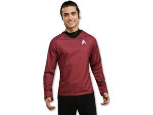 Star Trek Movie (2009) Grand Heritage Red Shirt Adult Costume