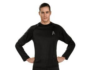Star Trek Black Adult Undershirt