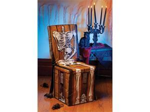 Skeleton Chair Cover