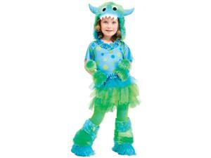 Monster Miss Toddler Costume - 24 Months-2T