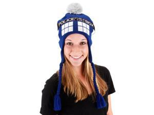 Doctor Who TARDIS Laplander Hat Adult