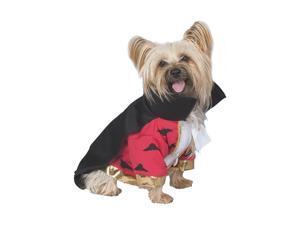 "Deluxe Vampire Dog Costume - Small (10""-14"")"