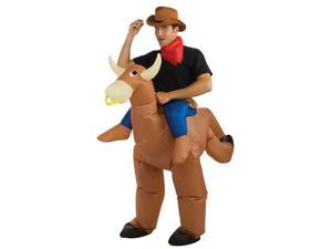 Inflatable Bull Rider Costume - Funny Costumes