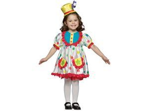 Girls Pretty Girl Clown Costume - Clown Costumes