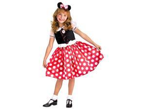 Girls Minnie Mouse Costume - Disney Mickey Mouse Costumes