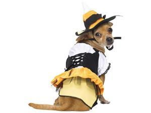 Candy Corn Witch Dog Costume - Candy Corn Costumes