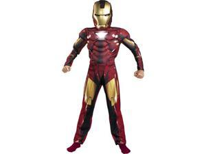 Kids Iron Man 2 Mark VI Muscle Costume - Iron Man Costumes