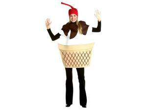 Adult Ice Cream Sundae Costume - Funny Food Costumes
