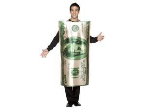 Adult $100 Bill Costume - Funny Costumes