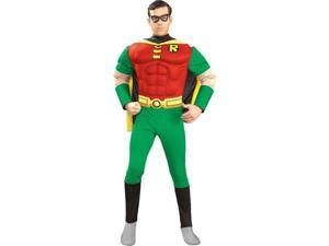 Adult Deluxe Robin Costume - Batman and Robin Costumes