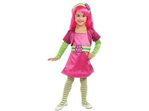 Girls Deluxe Raspberry Tart Costume - Strawberry Shortcake Costumes