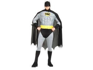 Plus Size Adult Batman with Muscle Chest - Batman Costumes
