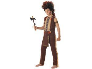 Boys Indian Warrior Costume - Native American Indian Costumes