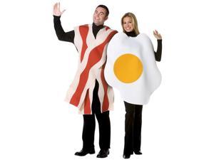 Adult Bacon and Eggs Couples Costume Set - Funny Food Costumes