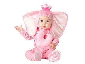 Little Baby Pink Elephant Costume - Baby Animal Costumes