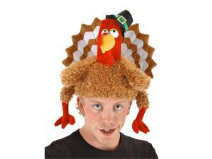 Adult or Child Gobbler Turkey Hat - Turkey Costume Accessories