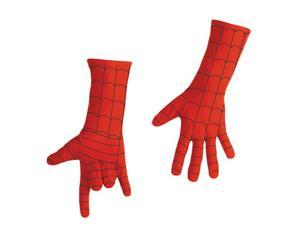 Kids Deluxe Spiderman Costume Gloves - Spiderman Costumes