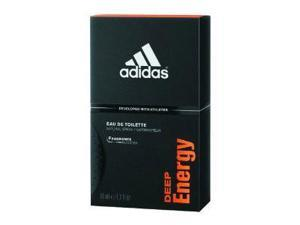 Adidas Deep Energy Cologne 3.4 oz EDT Spray