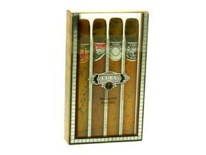 Cuba Gift Set by Cuba Gift Set - 1.17 oz Cuba Gold + 1.17 oz Cuba Red + 1.17 oz Cuba Blue + 1.17 oz Cuba Orange